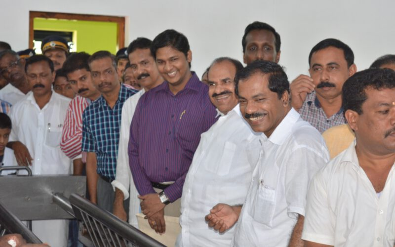 The Gas crematorium has officially inaugurated under Jalanidhi Project