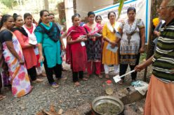 Training in Medicinal oil production under Rural Women Technology Park Project