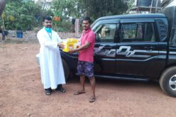 Malabar Social Service Society has distributed food and sanitation kits to migrant workers